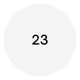 23-as méretű cipő
