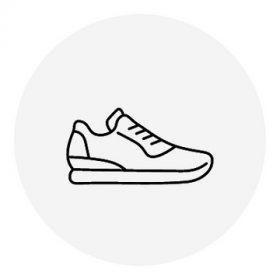 Lány zárt cipő