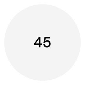 45-ös méret