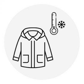 Lány kabát - téli