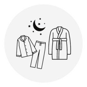 Pizsama és köntös