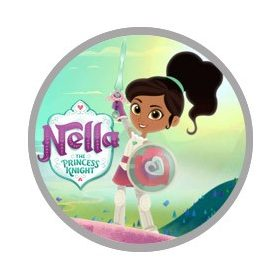 Nella - a hercegnő lovag pizsama és köntös