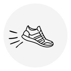 26-os méretű lány sportcipő