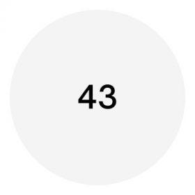 43-as méret