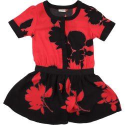Fekete-piros playsuit (146)