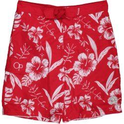 Virágos piros fürdőnadrág (152)