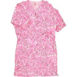 Pinkvirágos ruha (152)