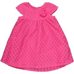 Csipkés rózsaszín ruha (68)