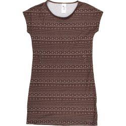 Mintás barna ruha (146)