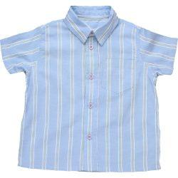 Csíkos kék ing (74)