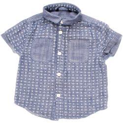 Mintás kék ing (92)