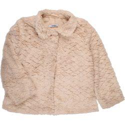 Bézs prémes kabát (116)