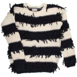 Csíkos pulóver (128-134)