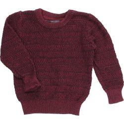 Melírozott pulóver (80)