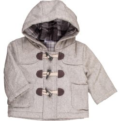 Szürke szövet kabát  (68)