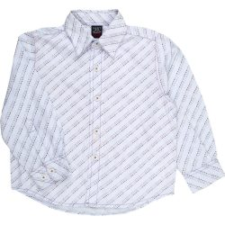 Mintás kék ing (104)