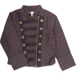 Díszgombos kabát (110)