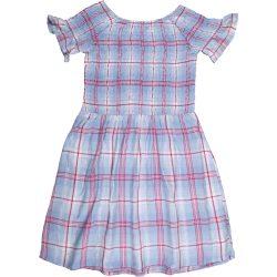 Kékkockás ruha (140)