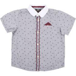 Mintás szürke ing (110)