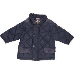 Sötétkék steppelt kabátka (68)