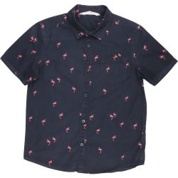 Flamingós éjkék ing (134)