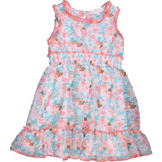 Tengerimintás sifon ruha (104)