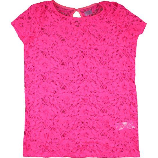 Pink csipkefelső (152)