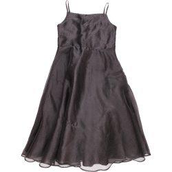 Pöttyös fekete ruha (122)