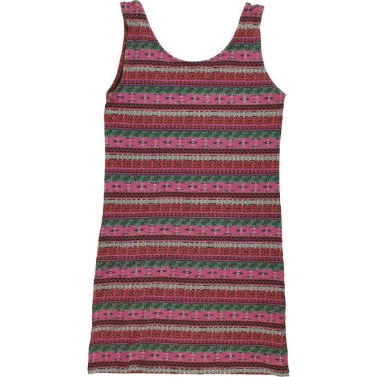 Bordómintás mini ruha (170)