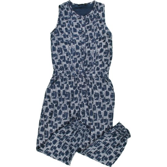 Cicás kék jumpsuit (122)