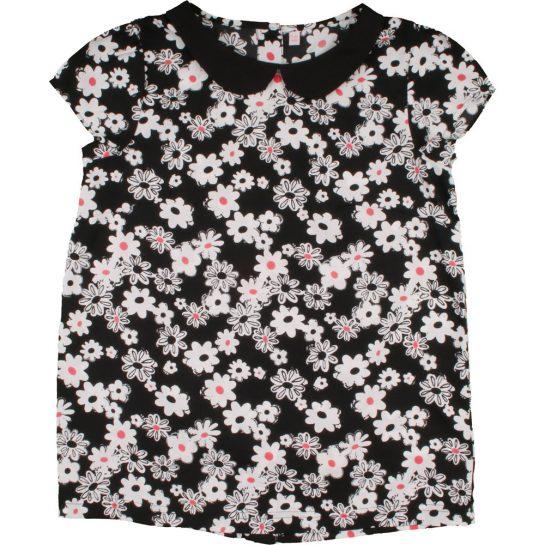 Virágos sifonblúz (140)