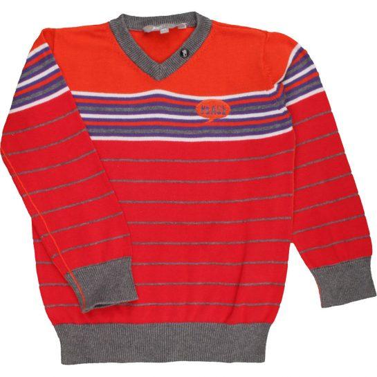 Csíkos pulóver (104)