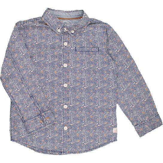 Kékmintás ing (110)