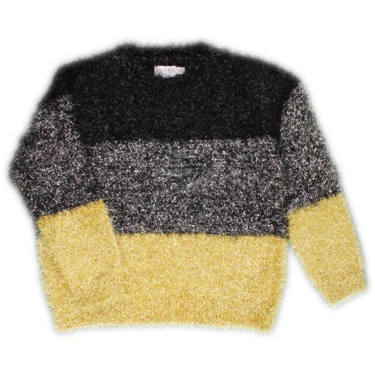 Fémszálas pulóver (104-110)