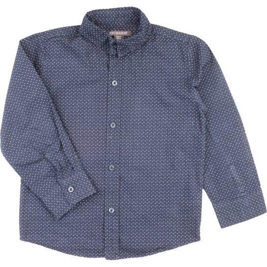 Mintás kék ing (116)