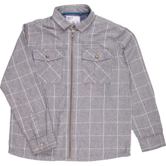 Kockás szürke ing (110)