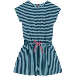 Kékcsíkos ruha