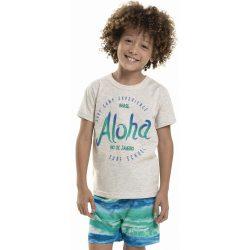 Aloha szürke póló