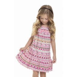 Dalmatás rózsaszín ruha