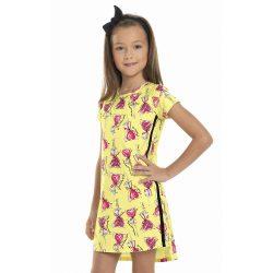 Nyalókás sárga ruha