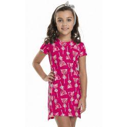 Nyalókás pink ruha