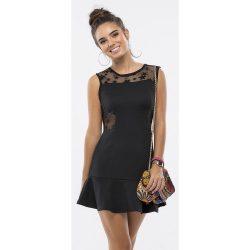Csillagos fekete ruha