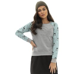 Szürke-kutyás pulóver