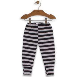 Szürke-fekete csíkos nadrág