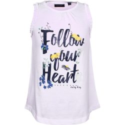 Follow your Heart fehér felső