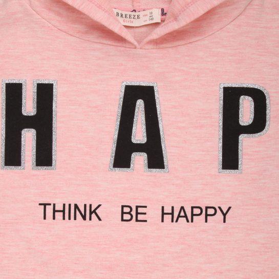Happy rózsaszín pulóver