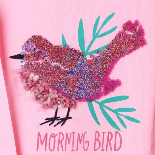 Bird rózsaszín felső