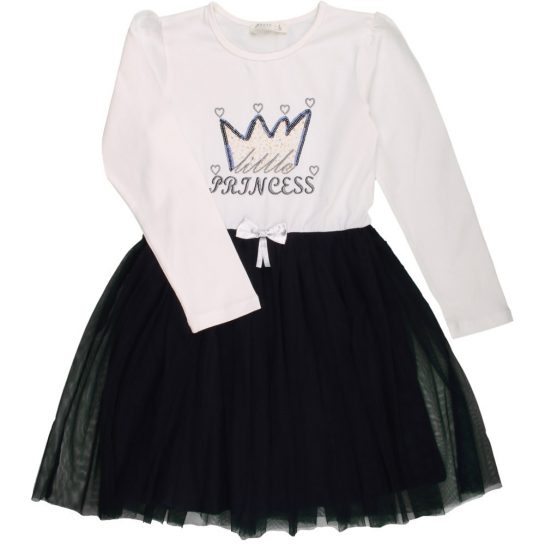 Princess törtfehér tüllruha