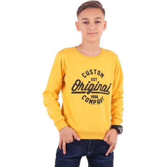 Original mustár pulóver