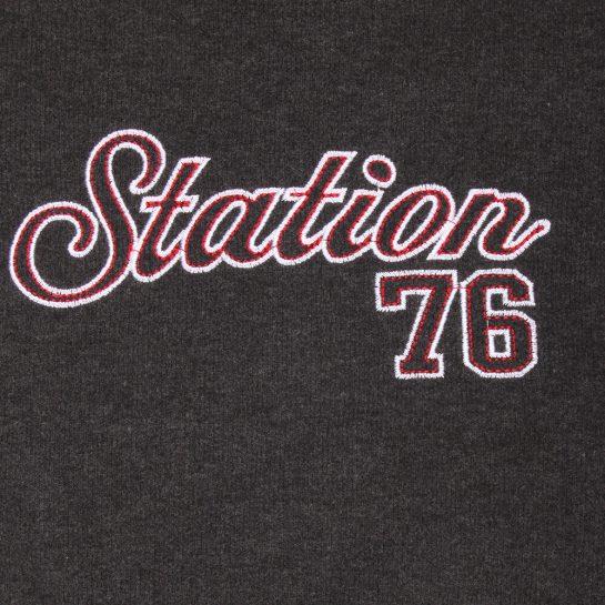 Station grafit pulóver